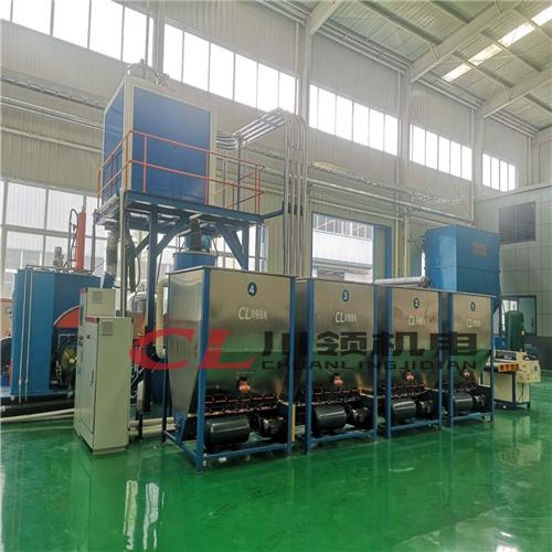 密炼机上辅机系统    捏炼机上辅机系统   密炼机自动配料系统 橡胶自动配料系统